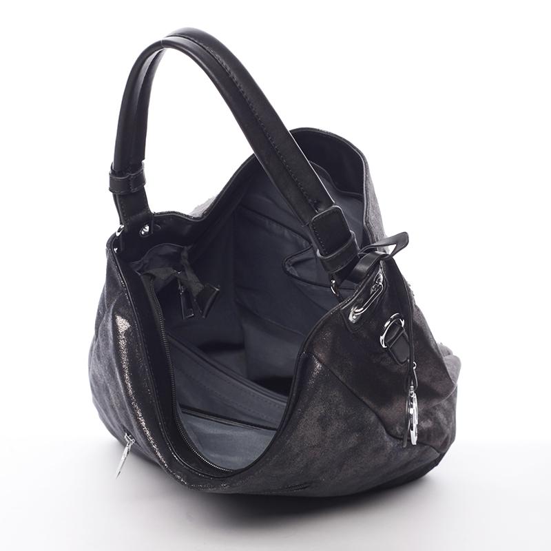 Extravagantní a luxusní kabelka Maya, černá