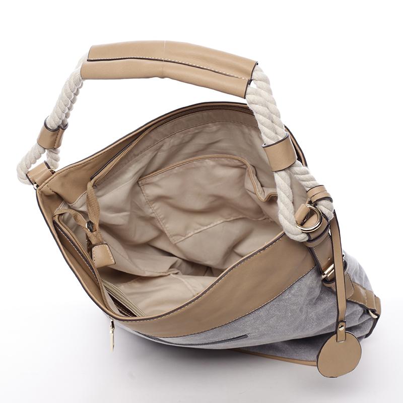 Trendová kabelka Mc Mary Marisa, šedá