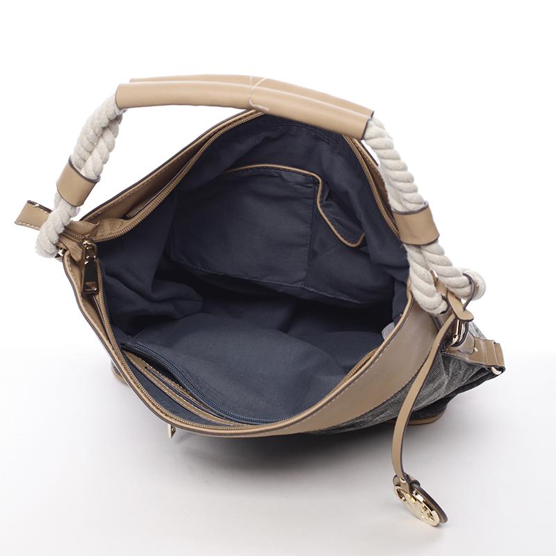 Trendová kabelka Mc Mary Marisa, černá