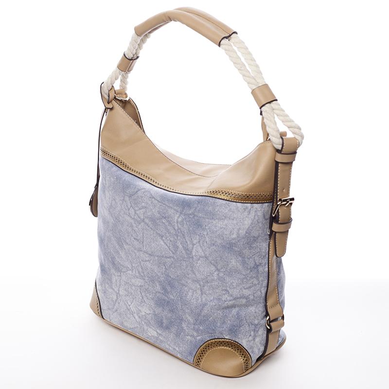 Trendová kabelka Mc Mary Marisa, modrá