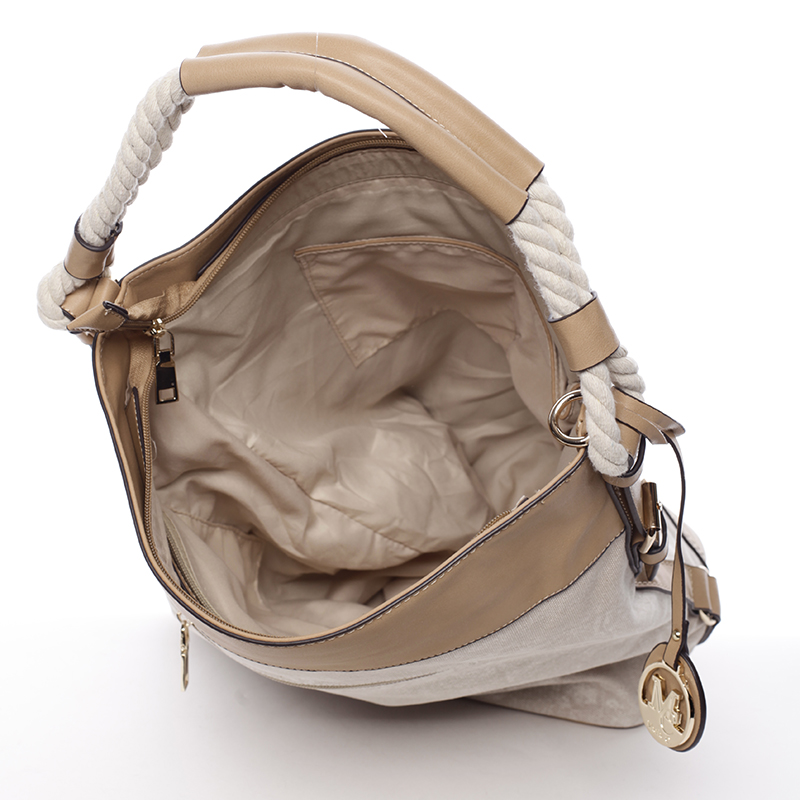 Trendová kabelka Mc Mary Marisa, béžová