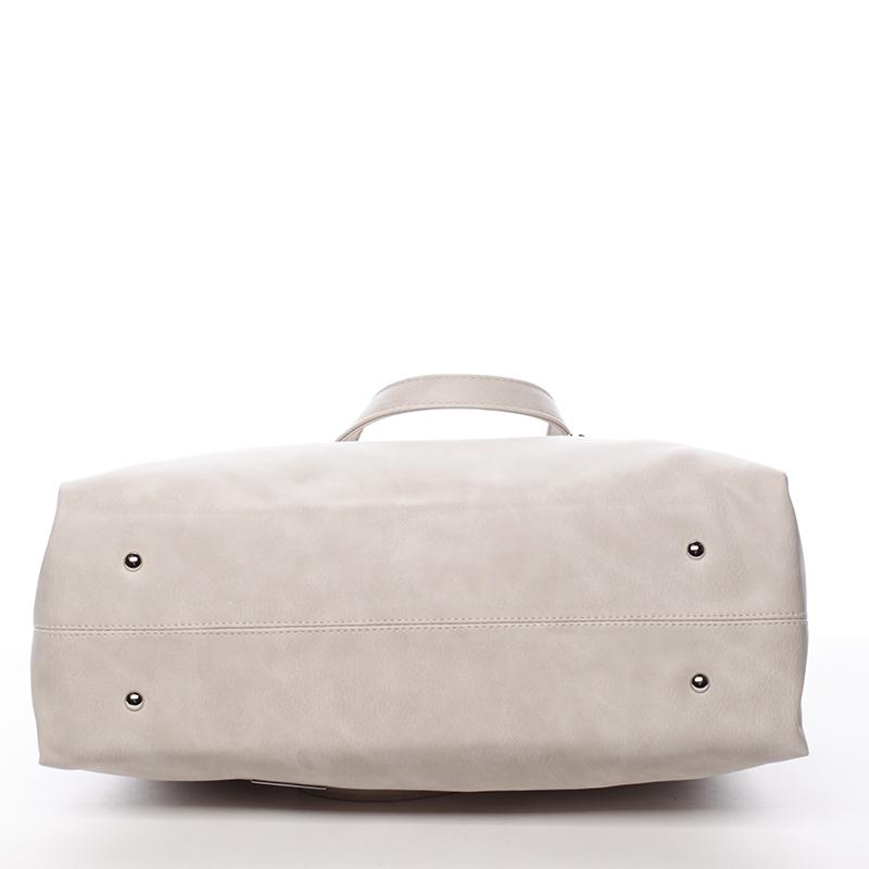 Luxusní kabelka Karen Melania, béžová