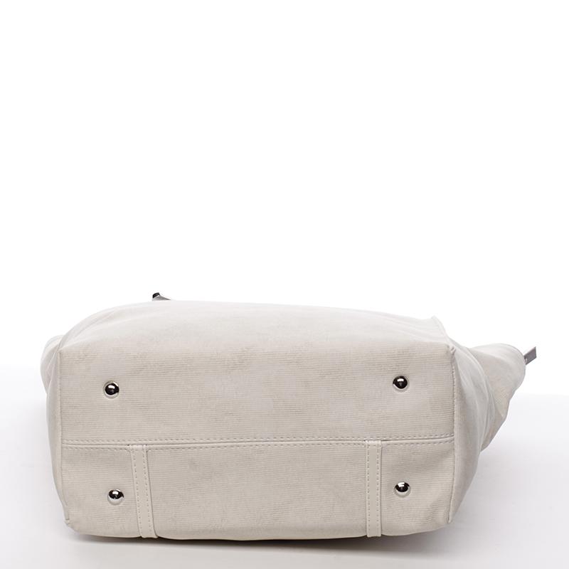 Trendy kabelka přes rameno Karen Brygida, béžová