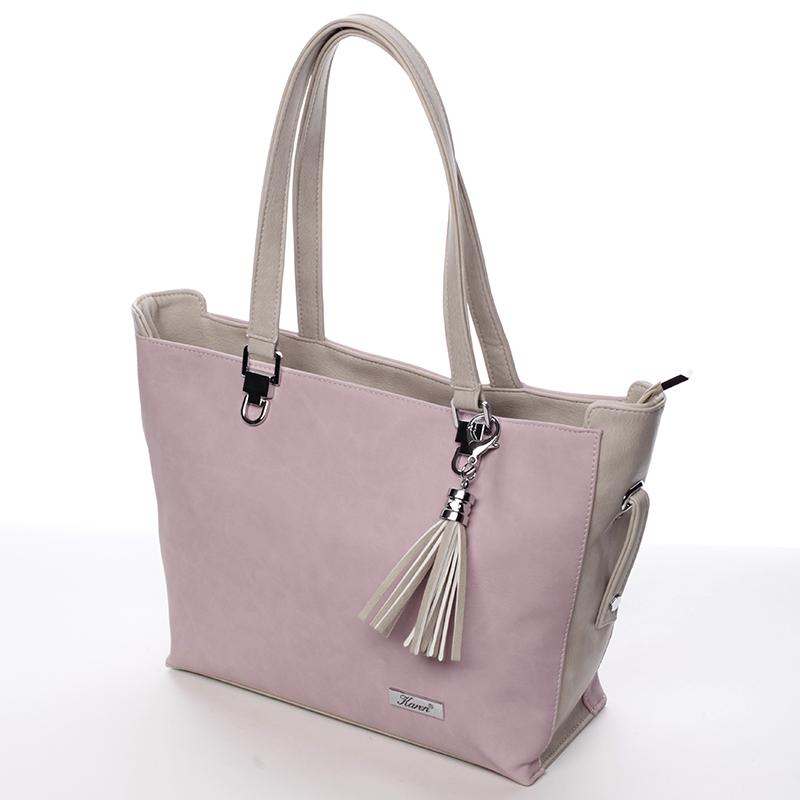 Originální kabelka Karen Kisselia, růžová