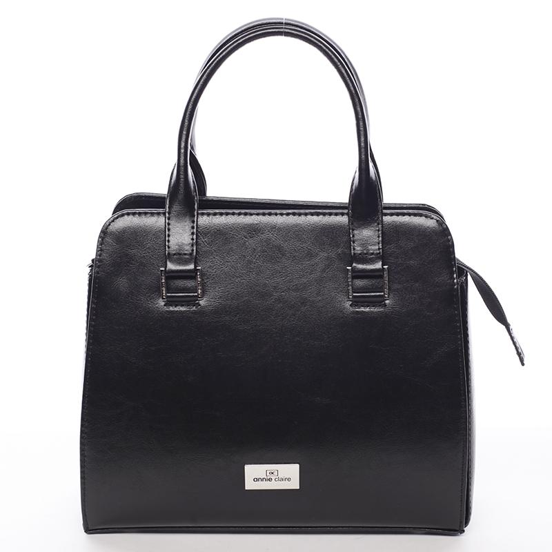 Dámská kožená kabelka Annie Claire Marilú, černá