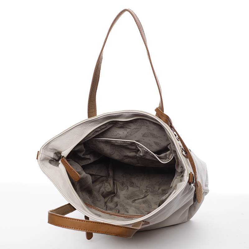 Módní kabelka Mc Mary Isadora, béžová