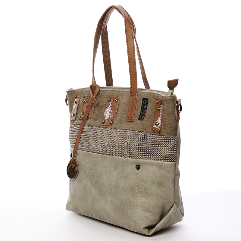 Módní kabelka Mc Mary Isadora, zelená