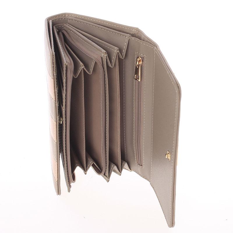 Originální peněženka Dudlin Brunela, meruňková