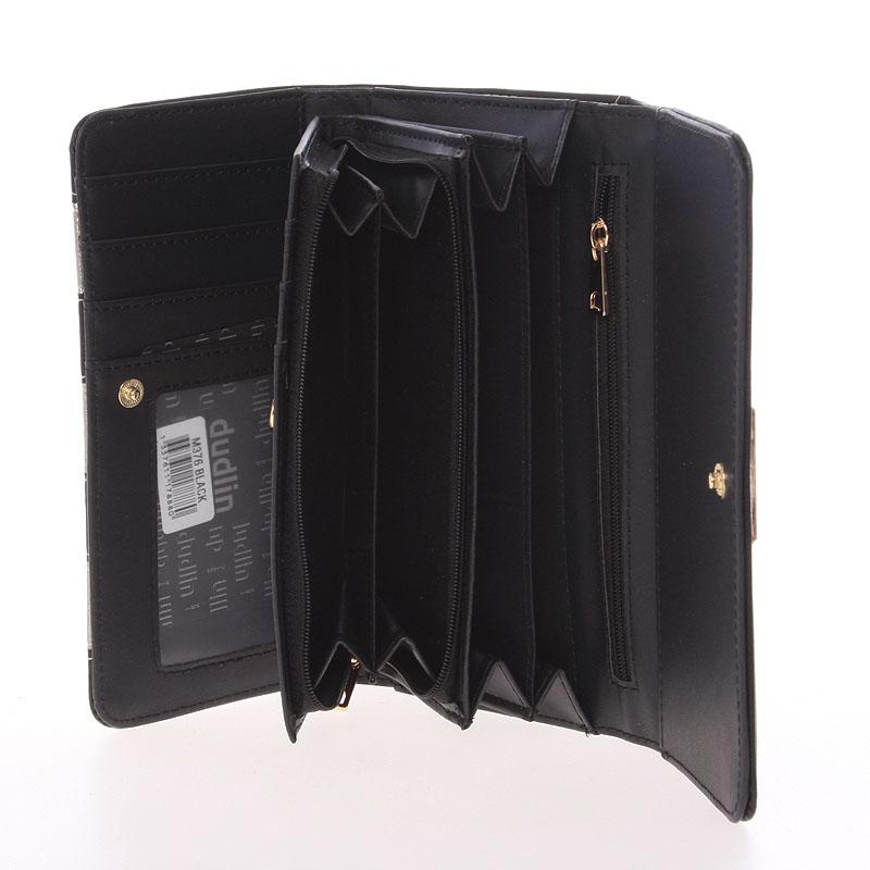 Originální peněženka Dudlin Brunela, černá