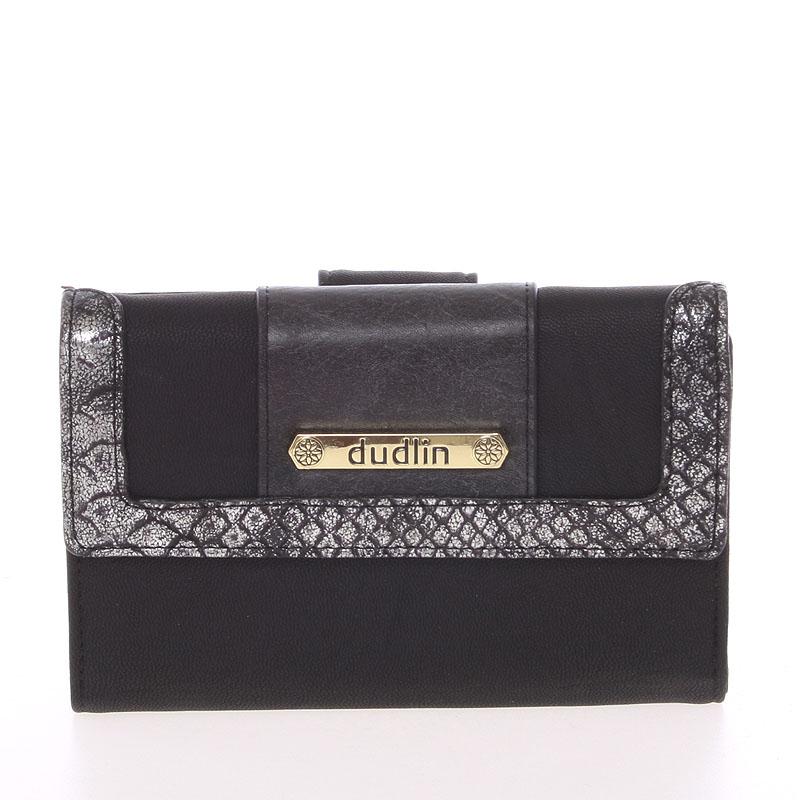 Dámská elegantní peněženka Dudlin Brenda, černá