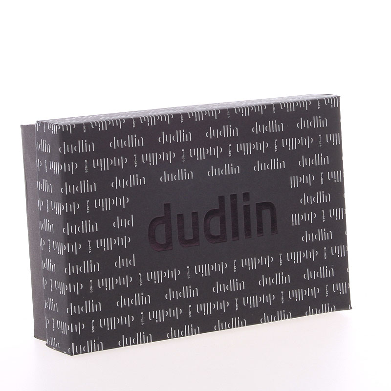 Luxusní prostorná peněženka Dudlin Betania, tmavě modrá