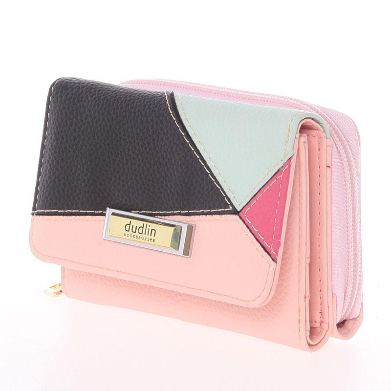 Dámská Dudlin Avril peněženka, růžová
