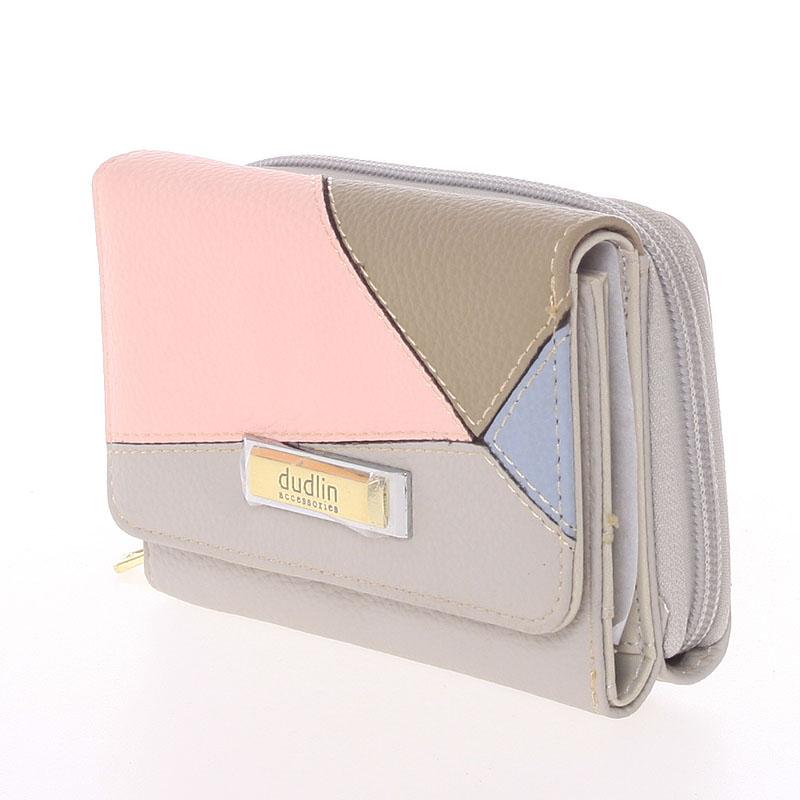 Dámská Dudlin Avril peněženka, šedá