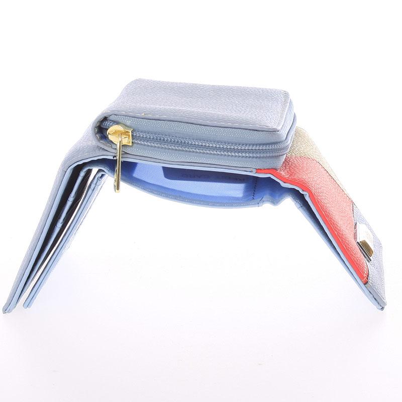 Dámská Dudlin Avril peněženka, světle modrá
