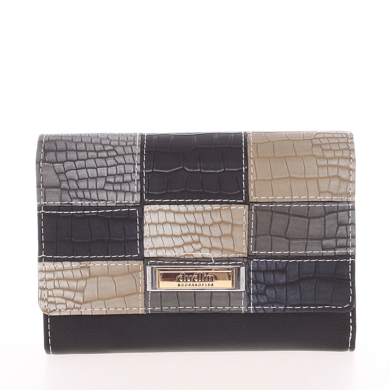 Módní dámská peněženka Dudlin Ava, černá
