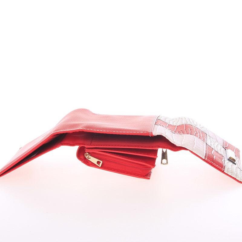 Módní dámská peněženka Dudlin Ava, červená