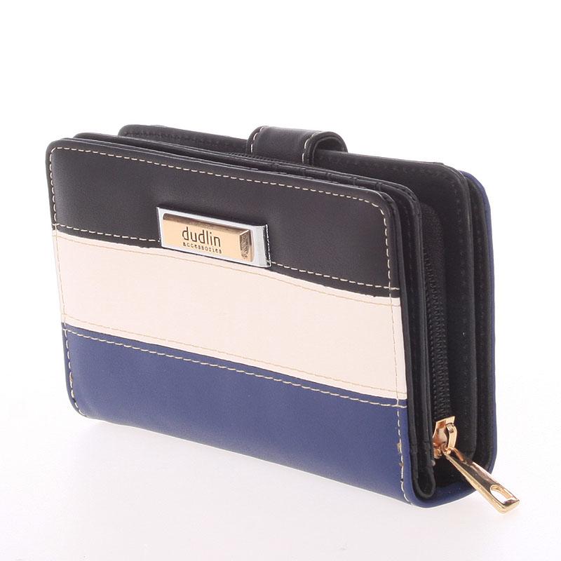 Originální dámská peněženka Dudlin Aurora, černá
