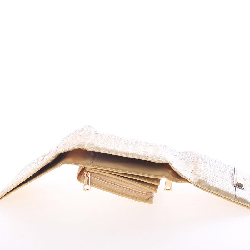 Dámská stylová peněženka Cristina, zlatá
