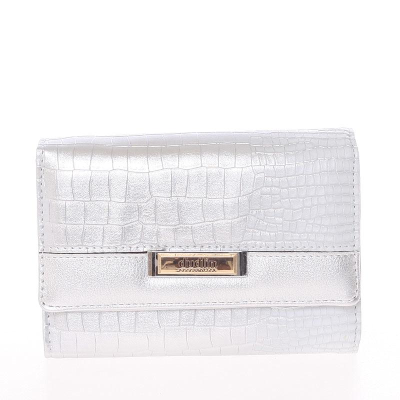 Dámská stylová peněženka Cristina, stříbrná