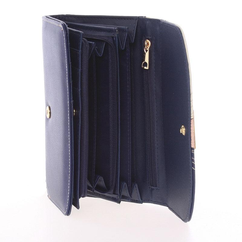 Peněženka Dudlin Celina, tmavě modrá