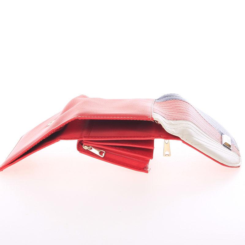 Peněženka Dudlin Celina, červená