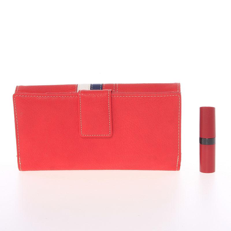 Elegantní peněženka Dudlin Eduarda, červená