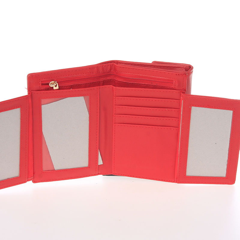 Svěží dámská kabelka Dudlin Gladis, červená