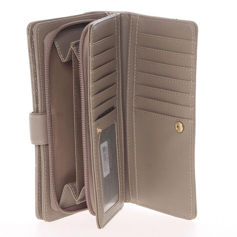Originální dámská peněženka Dudlin Jimena, šedá