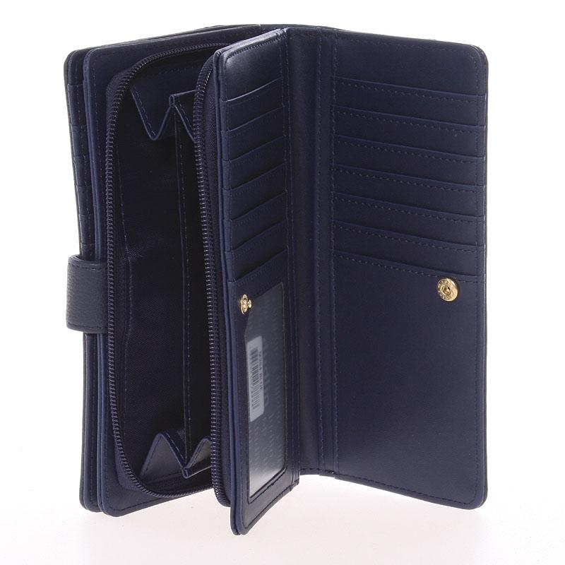 Originální dámská peněženka Dudlin Jimena, tmavě modrá