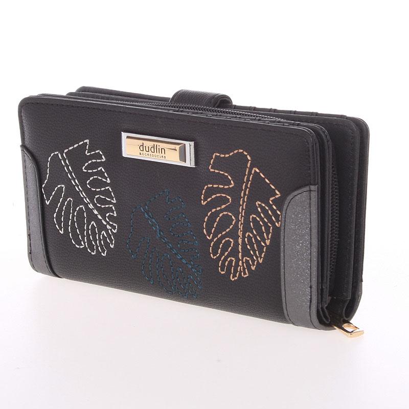 Originální dámská peněženka Dudlin Jimena, černá