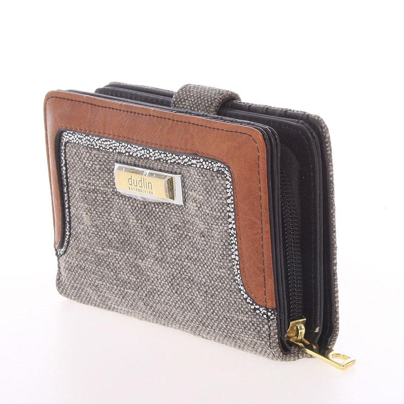 Střední dámská peněženka Dudlin Margarita, černá