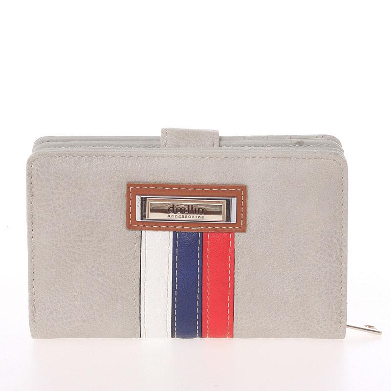 Stylová dámská peněženka Tatiana, světle šedá