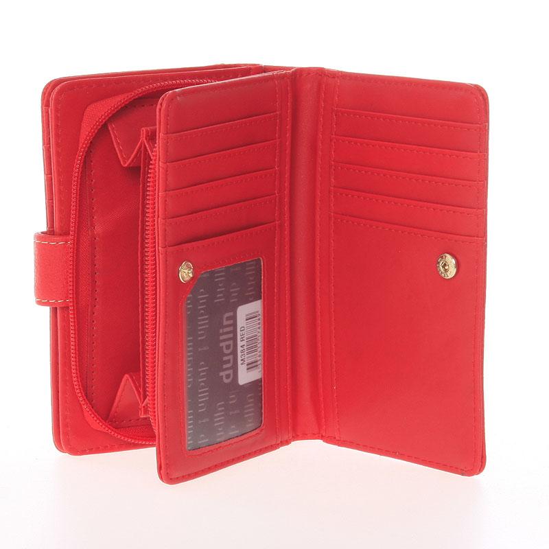 Stylová dámská peněženka Tatiana, červená