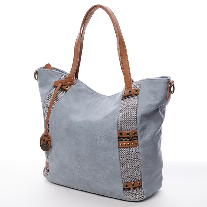 Originální trendová kabelka Zarina, modrá