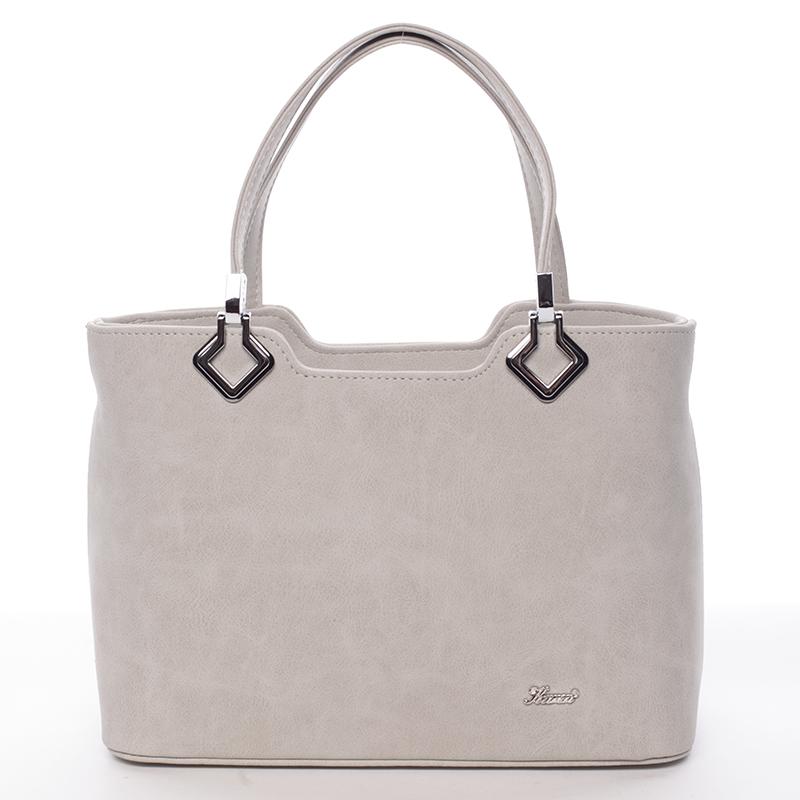 Moderní kabelka Karen Bella, šedá
