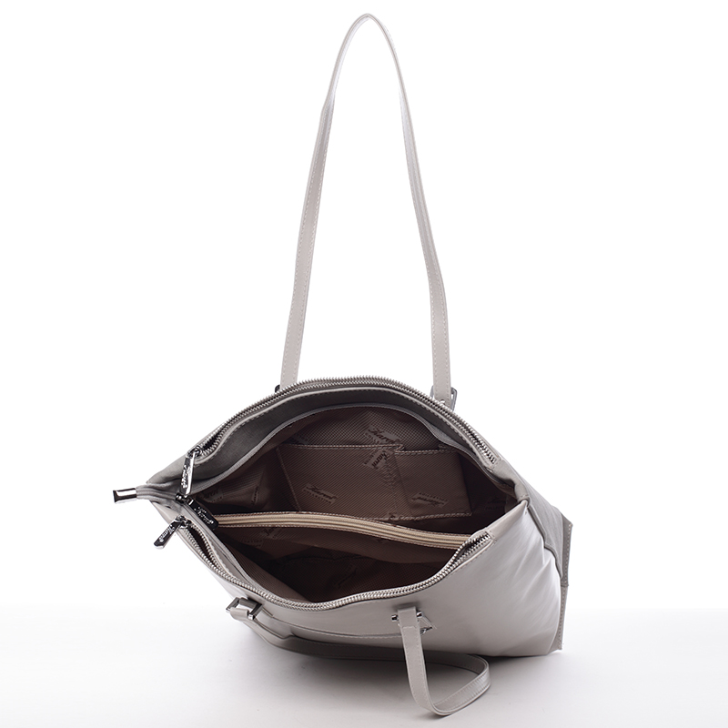 Elegantní kabelka Karen Inge, šedá