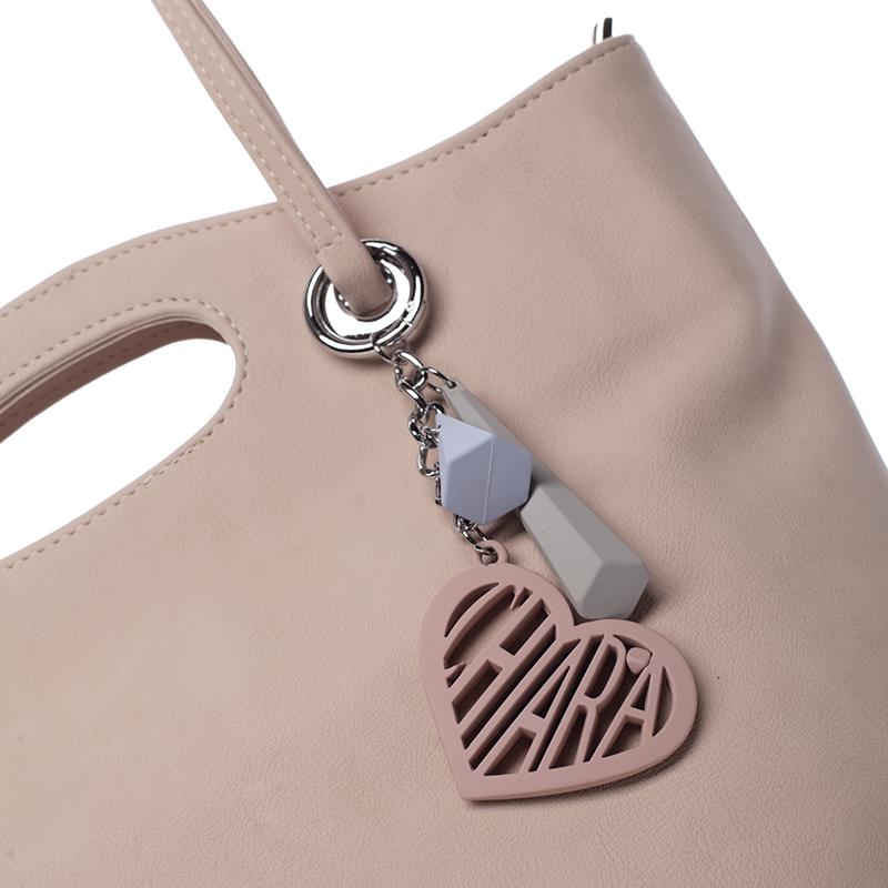 Módní kabelka Anabella, světle staro-růžová