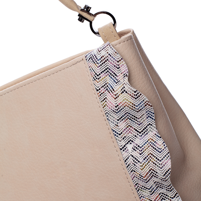 Stylová kabelka přes rameno Chiara, béžová