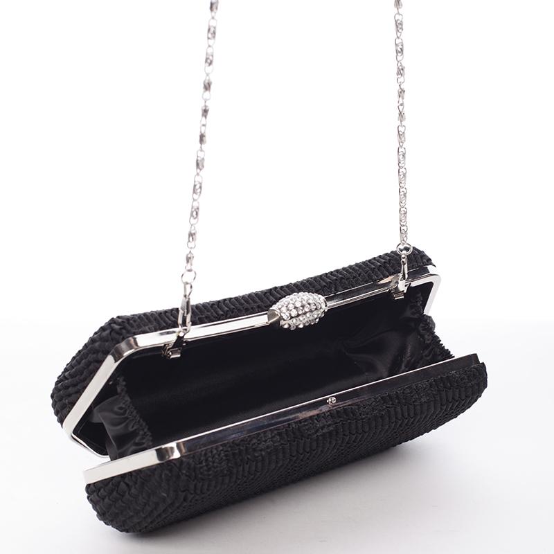 Elegantní psaníčko Rubí, černé