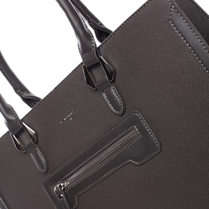 Dámská kabelka pro moderní ženu Sonia, tmavě šedá