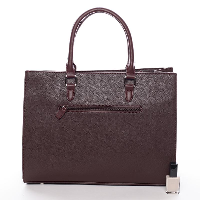 Dámská kabelka pro moderní ženu Sonia, dark bordó