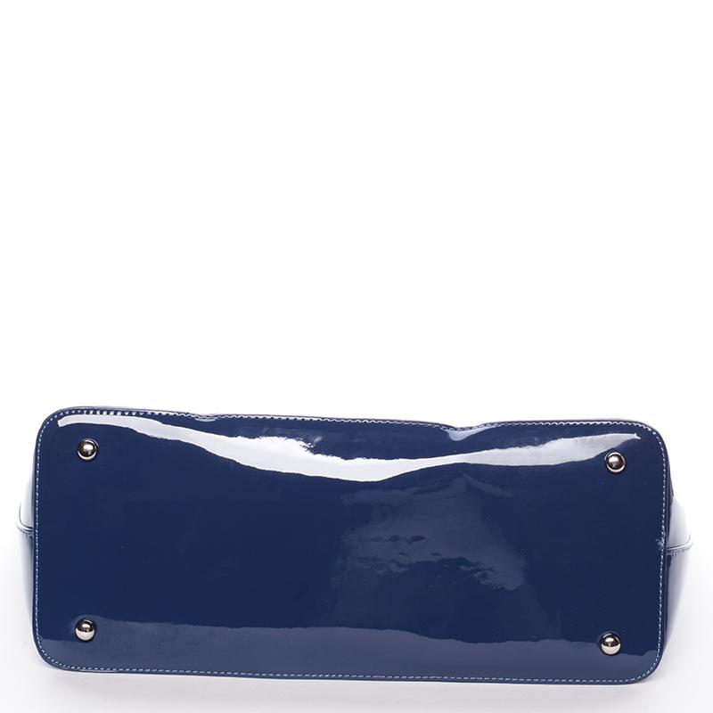 Krásná moderní kabelka přes rameno Uma, modrá