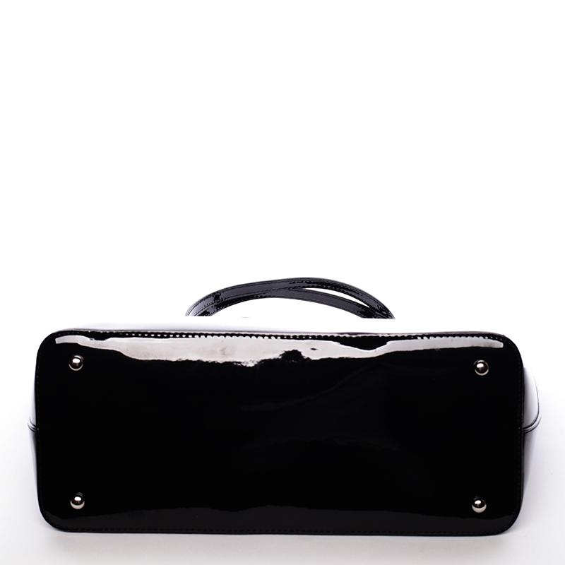 Krásná moderní kabelka přes rameno Uma, černá