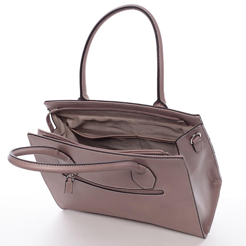 Elegatní kabelka do ruky Tatiana, růžová