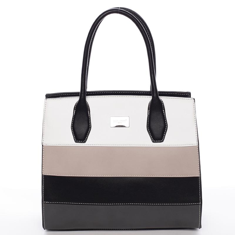 Elegatní kabelka do ruky Tatiana, černá