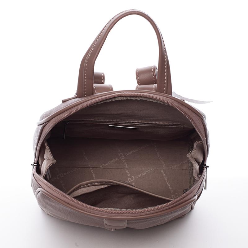 Trendy baťůžek Tiara, tmavě růžový