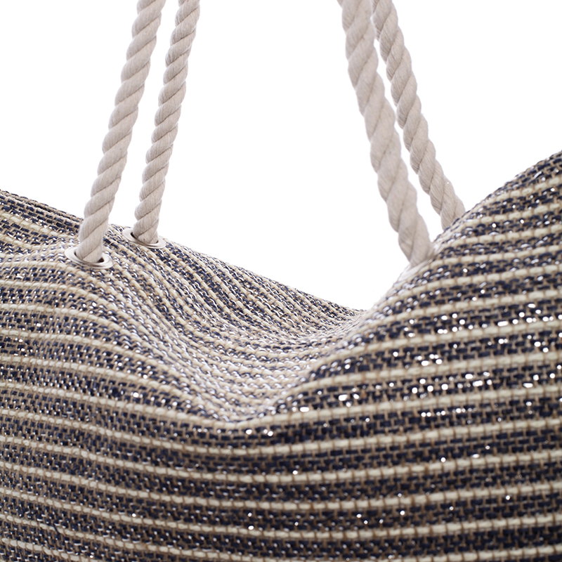 Stylová dámská plážová taška Selena, modrá