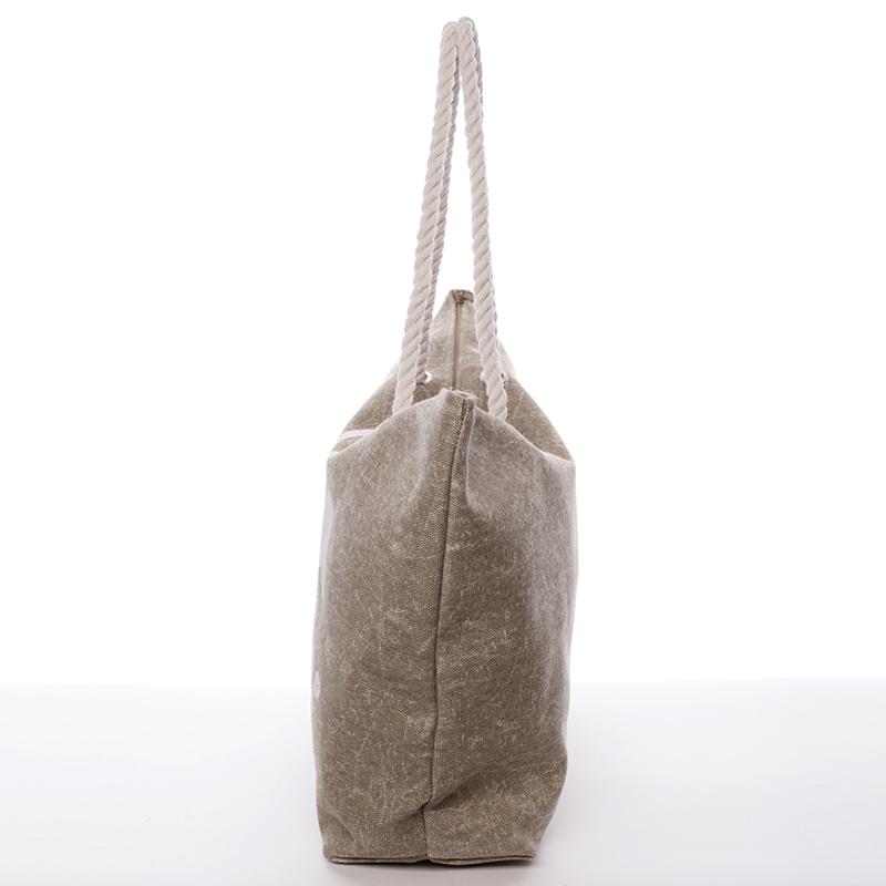 Trendová plážová taška Paz, písková