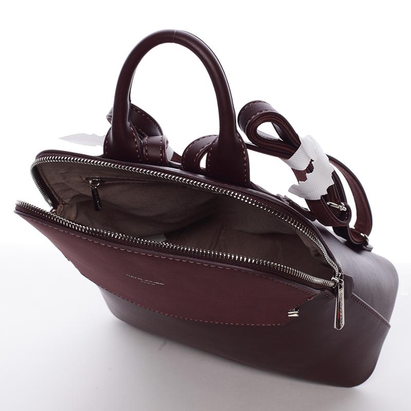 Originální batoh Lidia, tmavá bordó
