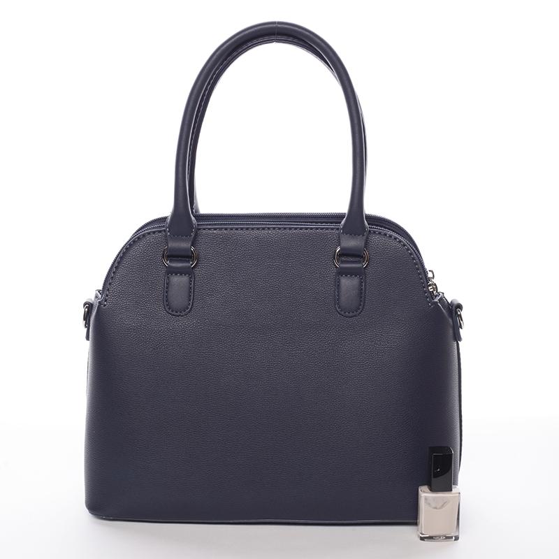 Trendová kabelka do ruky Elaina, tmavě modrá